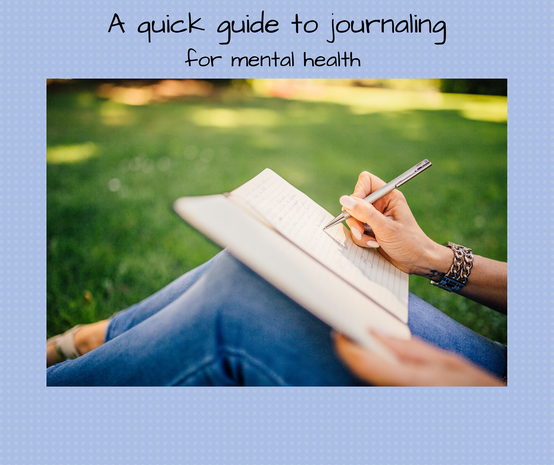 A guide to journaling for mental health