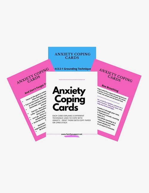 Anxiety Coping Cards