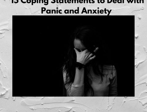 15 Coping Statements to Deal With Panic and Anxiety
