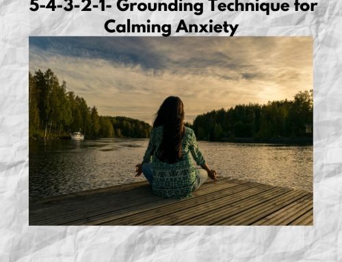 5-4-3-2-1 Grounding Technique for Calming your Anxiety